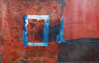 Jordi Texidor Number 6 Abstract Spanish Painting 1972