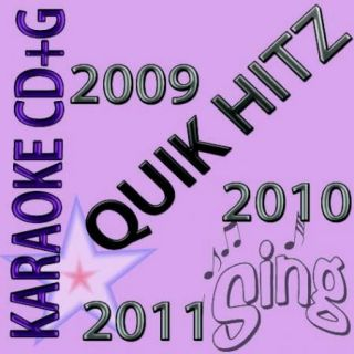 Karaoke cd g NEW 7 disc set QUIK HITZ w Rihanna Taylor Swift NE YO ON SALE NOW
