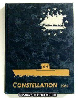 USS Constellation CVA 64 Vietnam War Cruise Book 1964