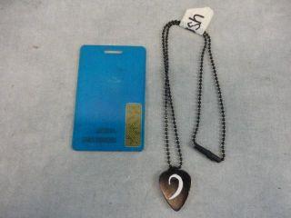 Terra Nova Josh Shannon Landon Liboiron Screen Used Necklace ID Card Multi EP
