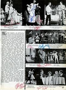 Classic Hollywood Stars Autographed Book Page Signed By Henry Fonda 15 More