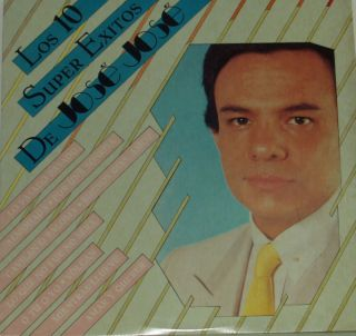 JOSE JOSE LOS 10 SUPER EXITOS DE JOSE JOSE LP