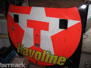 Juan Pablo Montoya NASCAR Race Car Hood Havoline Authentic Piece Racing History