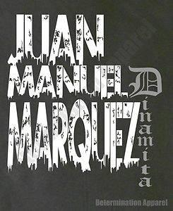 Juan Manuel Marquez T Shirt DINAMITA vs Manny Pacquiao HBO 24 7 Boxing B S