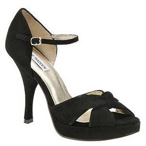 New Steve Madden Women Heels Black Juanita Shoes 10