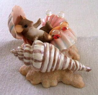 CHARMING TAILS Happy As A Clam Figurine 89 269 Fitz and Floyd