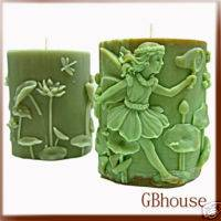 3D Silicone Candle Mold 3D Oval Joyce Fairy of Play
