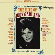 "Judy Garland ""The Hits of Judy Garland"" LP Liza Minelli Mickey Rooney Artie Shaw"