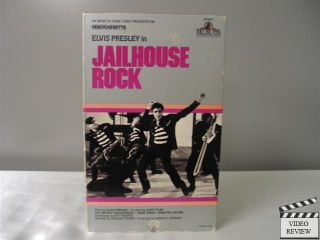 Jailhouse Rock VHS Elvis Presley Judy Tyler Mickey Shaughnessy Dean Jones