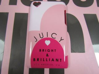 Juicy Couture Pink iTouch iPod Touch Bright and Brilliant Hard Case XARUT004