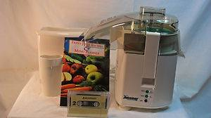 The Juiceman Jr Electronic Professional Series 210 Juicer Breakfast Beverage NEW