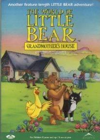 LITTLE BEAR Grandmothers House Nelvana DVD NEW