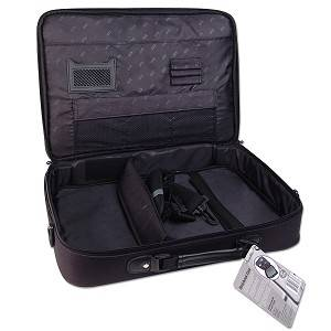 """Icon Notebook Computer Case Bag Fits Up to 17"""" Laptops"""
