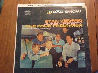 Road Show Stan Kenton June Christy The Four Freshmen Stbo 1327 LP