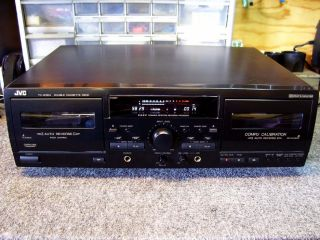 JVC Double Cassette Deck Model TD W354 with Pitch Control
