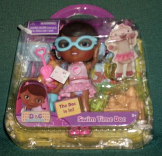 Doc McStuffins Swim Time Doc Just Play New in Box Playset