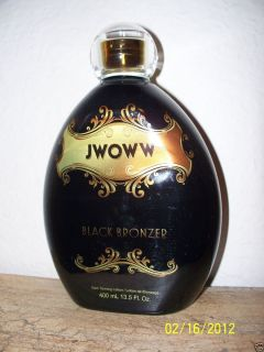 AUSTRALIAN GOLD JWOWW BLACK BRONZER TANNING LOTION JERSEY SHORES NEW