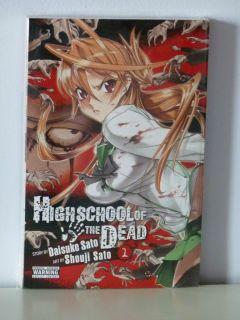 Kadokawa Comics High School of The Dead GN Vol 1
