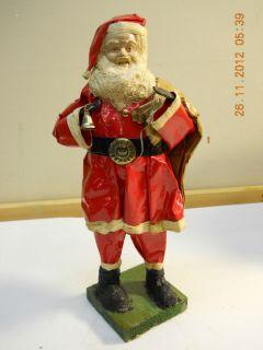 Paper Mache Santa 141 2 Tall
