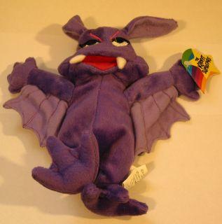 Krofft Superstars Stupid Bat Beanie Bean Bag Plush New