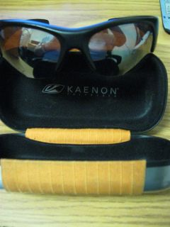 1047 Kaenon Hard Kore Polarized Mens Sunglasses with Kaenon Metal Case