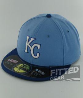 Kansas City Royals Alternate Blue White Logo New Era 59Fifty MLB