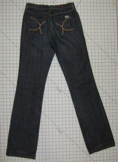 David Kahn 6 Stretch Boot Cut Straight Womens Jeans 3504