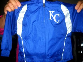 Kansas City Royals Kids 2T Track Jacket and Pants New with Tags
