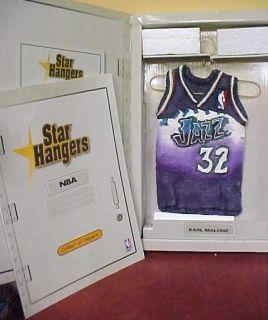 Star Hangers Karl Malone Jazz Sculpted Jersey