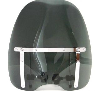 SMOKE TINTED WINDSHIELD for Kawasaki Vulcan VN 500 750 800 900 1500