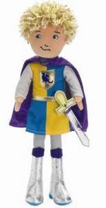 Groovy Girl Knight Keanan Plush Boy Doll Prince New