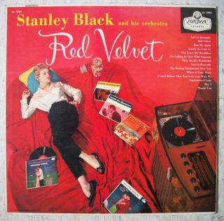 STANLEY BLACK Red Velvet VG+ Vinyl RARE Mono LP London Records UK ffrr