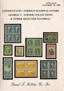 Kelleher US Foreign Stamps Covers 1980 Catalog