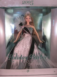 RARE Bob Mackie  Exclusive Green Holiday Barbie Doll