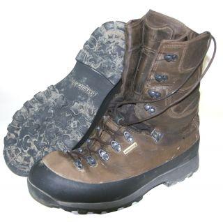 Kenetrek Mountain Extreme Ni Waterproof Hunting Boots Mens Size 12