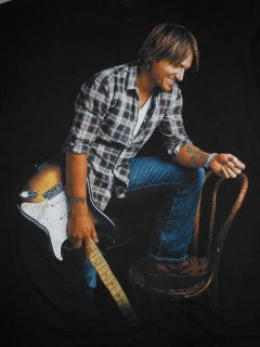 Keith Urban World Tour Concert T Shirt Mens Medium
