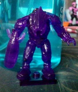 Mega Bloks Halo Universe Series 6 Secret Rare Transparent Purple Elite