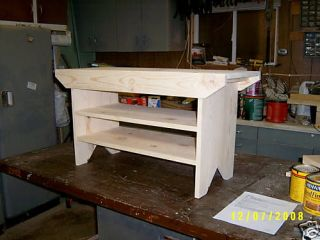 Shelve Wooden Bench with Plenty of Shoe Storage