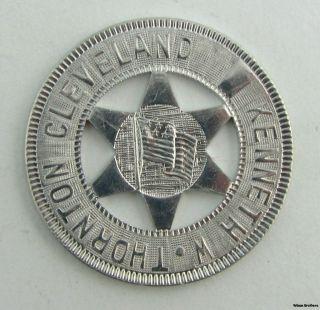 Kenneth w Thornton Cleveland Coin Star American Flag Political