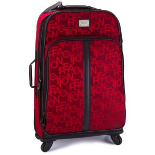 Kenneth Cole Reaction Taking Flight 25 Spinner Upright Suitcase Red