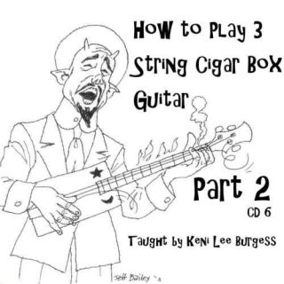 Guitar 3 String Lessons Part 2 Keni Lee Homemade Project Crafts