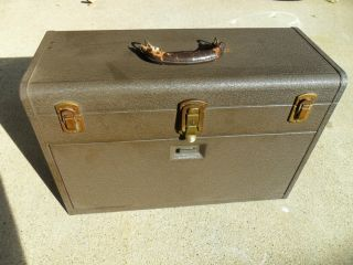 Vintage Kennedy Metal Tool Box Chest Toolbox and Tools Shown Included
