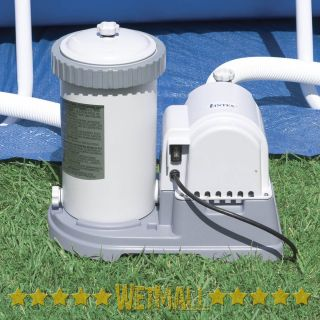 Intex 1500 GPH Above Ground Swimming Pool Pump Filter