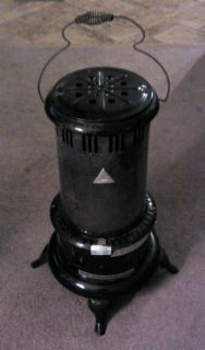 Vintage Perfection 525M Kerosene Oil Portable Heater Black