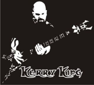 Kerry King Slayer Decal Sticker Car Truck RV Laptop
