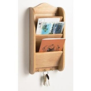 Run Brands Wooden Letter Holder Organizer Storage and Key Rack