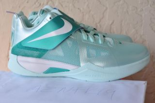 Nike Zoom KD IV GS Easter Kevin Durant Mint Green as Glow White