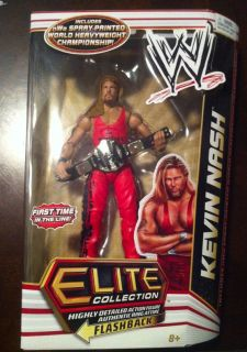 Kevin Nash WWE Mattel Elite 16 Flashback Outsiders NWO Wolfpac WCW
