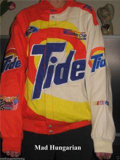 NASCAR RICKY RUDD TIDE RACING WINSTON CUP DRIVERS UNIFORM JACKET 4XL