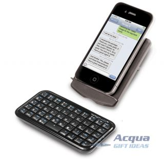 Ion Wireless Bluetooth Keyboard for Smart Phones iPhone iPod Touch PS3